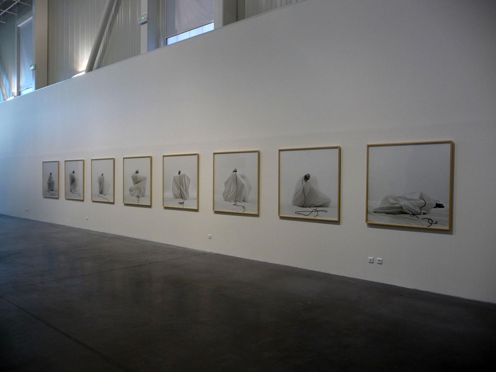 Noir, exhibition view Ici, ailleurs - Friche Belle de Mai, Marseille