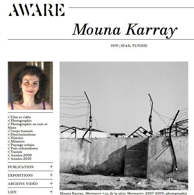 Marian Nur Goni – Mouna Karray — Aware