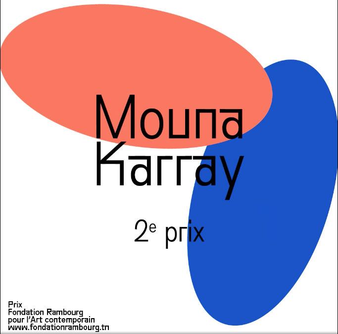 Prix Fondation Rambourg Mouna Karray