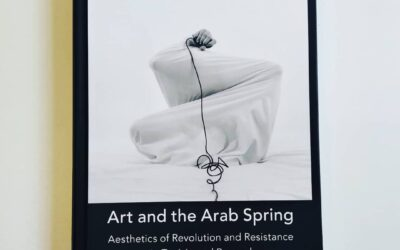 """""""Noir"""" on the cover of the book """"Art and the Arab Spring"""""""