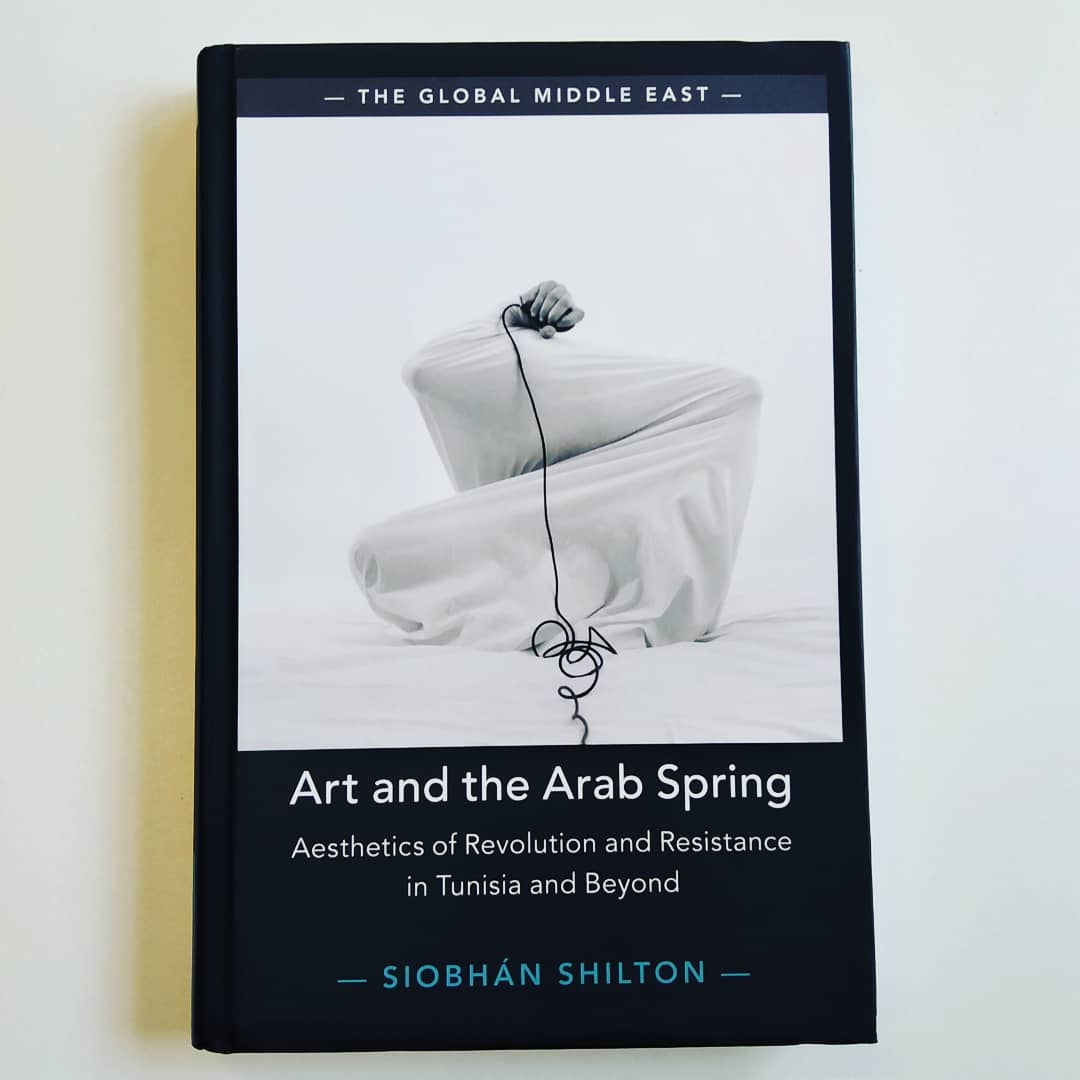 Mouna Karray Cover of the book Art and the Arab Spring